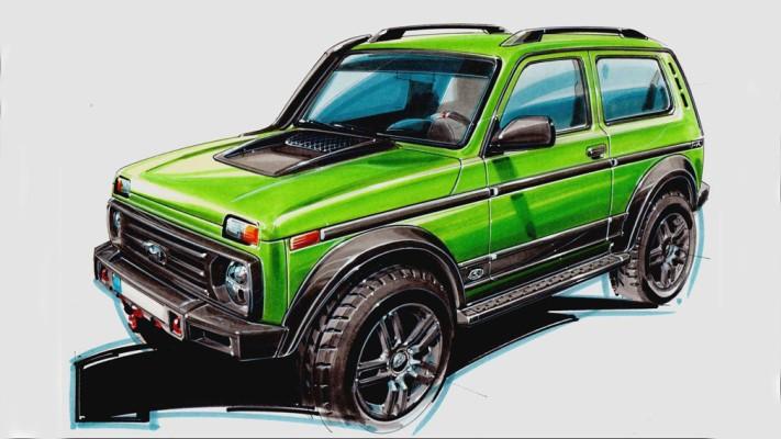 Lada 4x4 50th Anniversary Limited Edition