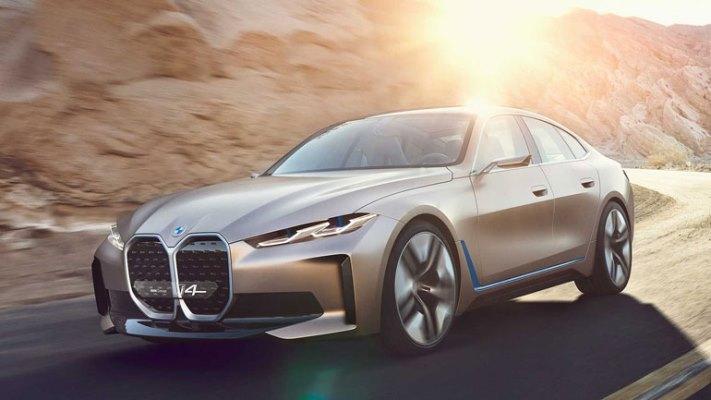 BMW i4M 2021 год