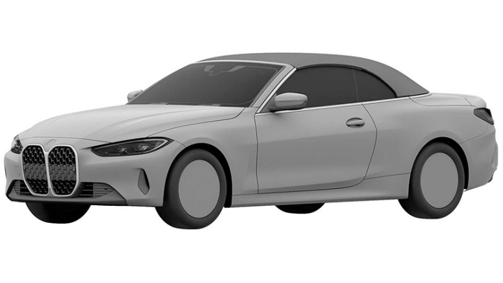 BMW 4-Series, патент, кабриолет