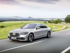 Стартовали продажи седанов Mercedes-Benz S-класса новой генерации