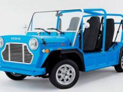В Великобритании возродили и доработали внедорожник Mini Moke