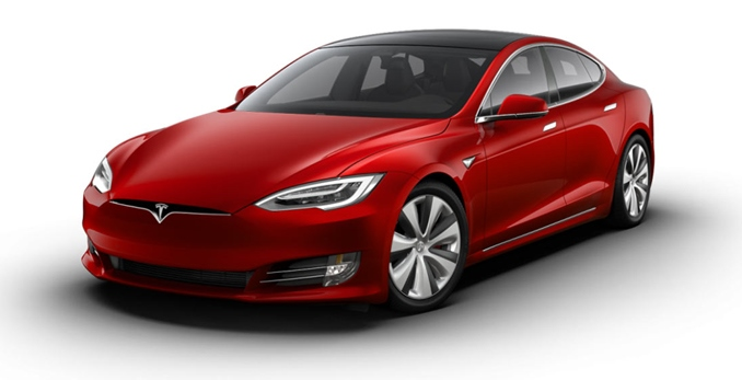 Tesla Model S, 1100 л.с.