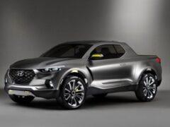 Hyundai тестирует пикап Santa Cruz