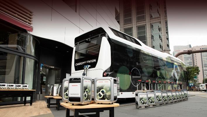 Charging Station, автобус, водородная электростанция