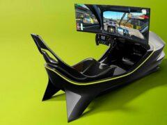 Aston Martin представил гоночный симулятор AMR-C01