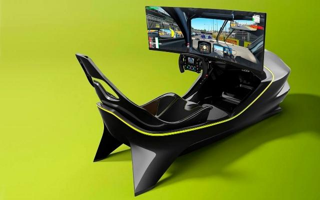 Aston Martin, гоночный тренажер, симулятор