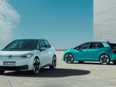 Новый Volkswagen ID.3 уверенно обходит конкурентов по продажам