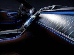 Новый Mercedes-Benz S-Class анонсировали в последний раз перед дебютом