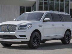 Lincoln Navigator 2021 года выйдет на рынок с пакетом Special Edition