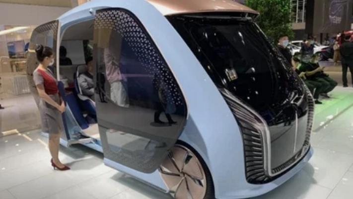 Hongqi, концепт микроавтобуса