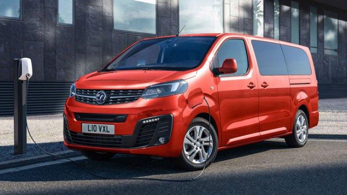 Opel Vivaro-e Life, микроавтобус