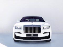 Rolls-Royce представил новый седан Ghost