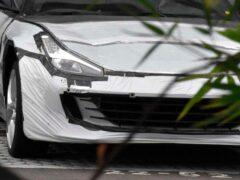 Первый кроссовер Ferrari замаскировали под спорткар во время тестов