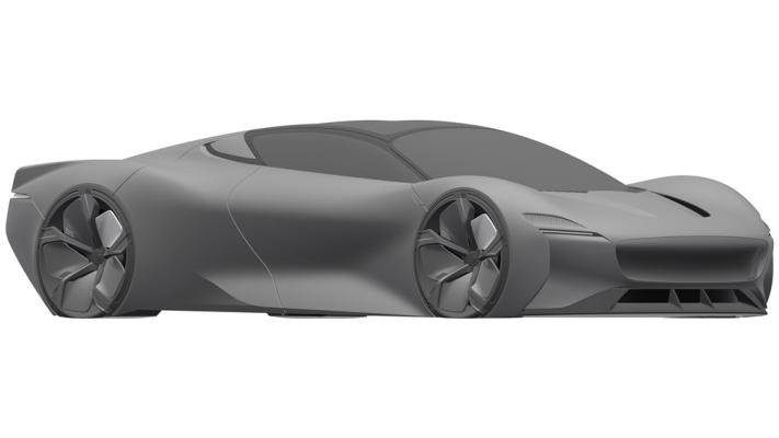 Jaguar, необычный суперкар, патент