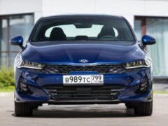 Эксперты оценили возможность конкуренции нового Kia K5 с Toyota Camry