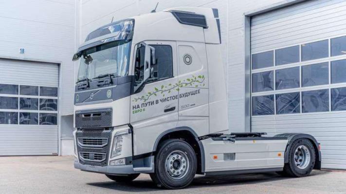 Volvo FH, седельный тягач, двигатель Евро-6