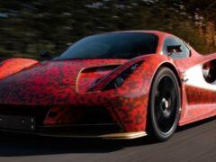Lotus тестирует сверхмощную электрическую версию Evija
