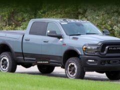 Ram анонсировал юбилейный выпуск пикапа 2500 Power Wagon 2021