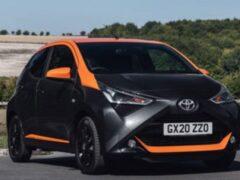 Toyota выпустила специальную версию Aygo с JBL Edition