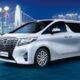 В России подорожал минивэн Toyota Alphard