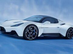 Электрическая версия Maserati MC20 будет мощнее бензиновой