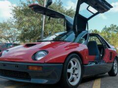 Уникальный кей-кар Autozam AZ-1 выставили на аукцион