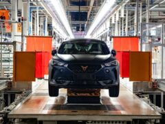 Модель Cupra Formentor запущена в серийное производство
