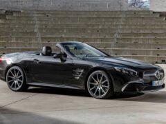В Сети опубликовали первые изображения нового Mercedes-Benz SL