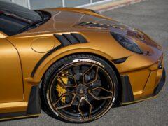 Ателье из РФ показало дорогой карбоновый обвес для Porsche 911 Turbo S