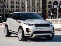 Кроссовер Range Rover Evoque обзавелся двумя новыми спецверсиями