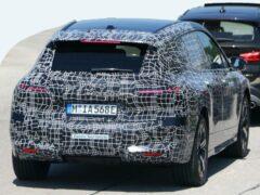 Версии BMW iX будут различаться по мощностям и батареям