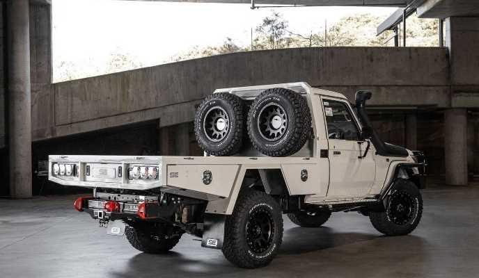 Toyota Land Cruiser, доработка, для дальних путешествий