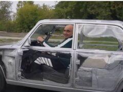 В РФ изготовили «Жигули» с совершенно прозрачным кузовом