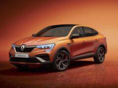Renault Arkana придёт в Европу с гибридной системой