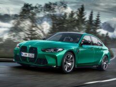 BMW официально презентовал новые споркары M3 и M4