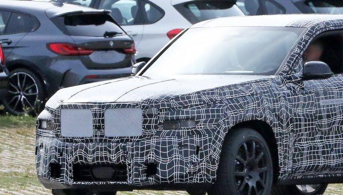 BMW X8, новый флагман, тесты