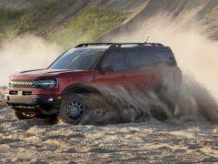 Ford опубликовал тизер на Bronco Warthog с 37-дюймовыми шинами