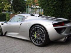 В России продают Porsche 918 Spyder 2015 г. в. за 99 млн рублей
