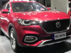 MG покажет в Пекине рестайлинговый HS под названием Linghang