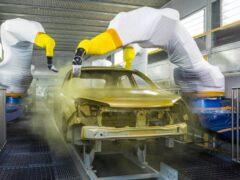 На заводе Nissan в Петербурге запустили новую технологию нанесения лака