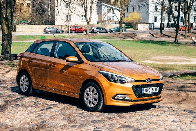 Hyundai i20, хэтчбек