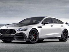 В РФ сделали тюнинг-обвес для 4-дверной версии Mercedes-AMG GT