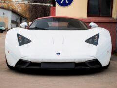 Суперкар Marussia за 12,5 млн рублей продается в Новосибирске