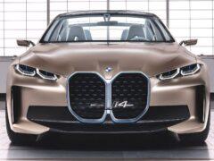 Прототип BMW i4 М проходит дорожные тесты