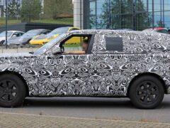 На тестах замечен новый длиннобазный Land Rover Range Rover