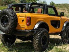 Ford Bronco в оснащении Wildtrak стал самой популярной версией внедорожника