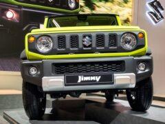 Очередь на новый Suzuki Jimny растянулась на 20 лет