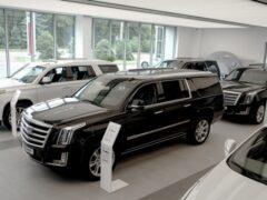 Cadillac в сентябре увеличил продажи в России в 2,8 раза