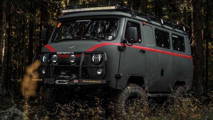 УАЗ 452, фургон, зверь-Буханка