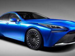 Toyota рассказала о водородном седане Mirai второго поколения